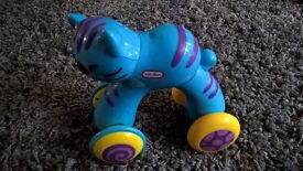 2 push and roll animals Little Tikes Fisher Price baby toddler toys
