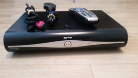 Sky HD box complete with remote control hdmi cable and power lead
