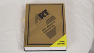 The Art of Electronics Hardcover, 3rd Edition