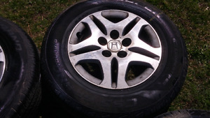 Honda Odyssey rims and tires