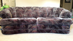 couch set - full size, love seat and chair