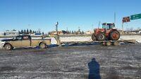 Custom Agriculture Equipment Hauling