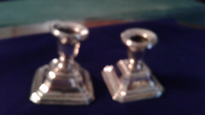 Sterling Silver Antique Candle Sticks