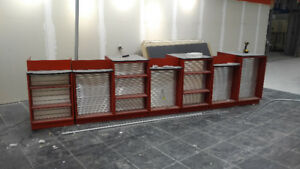 Reduced - Metal / Aluminum Store Counter