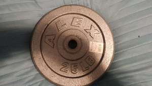 In search of old round weight from a weight set