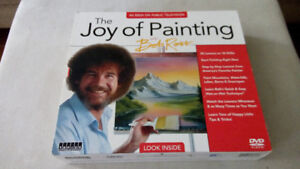 BOB ROSS - THE JOY OF PAINTING 20 LESSONS ON 10 DVDS