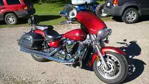 2007 V Star 1300 with fairing