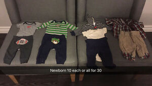 Boys/girls clothing newborn to 4T London Ontario image 5