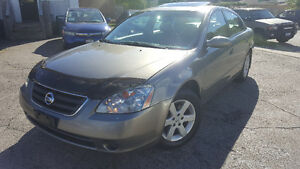 2003 Nissan Altima SL Sedan - LEATHER! SUNROOF! CERTIFIED!