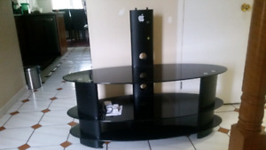 Tv stand with table