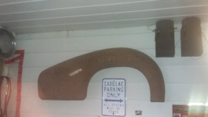 42-48 Cadillac commercial chassis NOS rear fender.