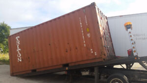 For Sale Used Storage and Shipping Containers - 20' and 40'