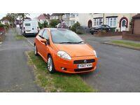 1.4 ltr petrol Orange Punto Grande for sale