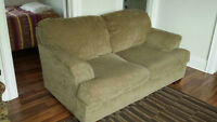 Selling 2 matching love seats, 100 for both or $70 each. Niagara