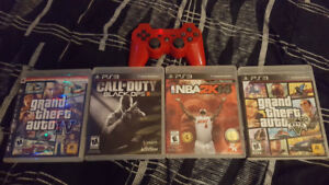 Ps3 games and a Controller..