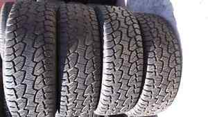 275/55r 20 Hankook dynapro tires