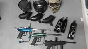 Complete Paintball setup for 3