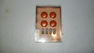 Lenses & bulbs for bullet signal light .