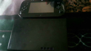 Wii U system 32gb, all hookups with Nintendoland game