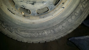 Nokian Studded 195 65r15 on rims