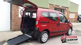 2011 Fiat Qubo Multijet Diesel Wheelchair Accessible Vehicle