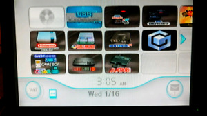 Softmodded Wii