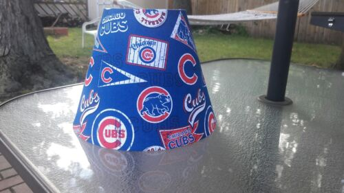 Chicago Cubs lamp shade. New