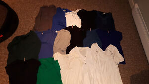 16 great condition maternity shirts