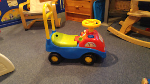 Ride and push Fisher price bus toy