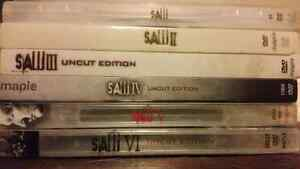 DVDS | SAW Collection