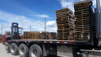 Pallets and skids Removal