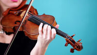 Violin teacher accepting new students at any level