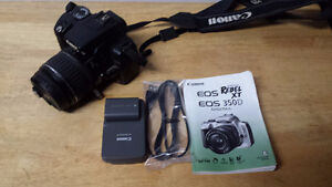 $200 - Canon Rebel XT 350D with lens