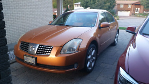 2004 Nissan Maxima SE 6 Speed Manual
