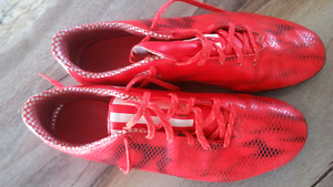 Size 13 Addidas  soccer cleats