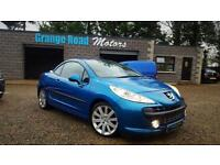 2007 PEUGEOT 207 1.6 GT COUPE CABRIOLET HDI 2D 108 BHP DIESEL