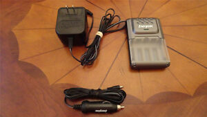 AAA Energizer Battery Charger with Car Adaptor