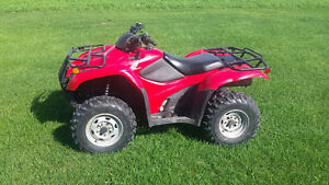 Honda 420AT Trail Edition- 4x4, automatic, power steering LOW KM
