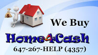 Do you need instant Ca$h? We Buy Home4Cash & Offer Fast Closing