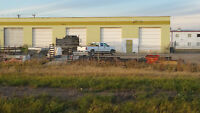 commercial Industrial warehouse shops bays 3300 sqft + yard spac