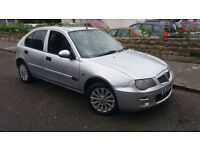 2005 05 ROVER 25 2.0 TD GLi 5 DOOR.AMAZING MPG.GENUINE PX BARGAIN.FULL MOT .