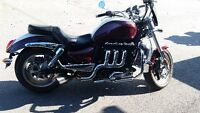 2008 Triumph Rocket III Classic with Extras