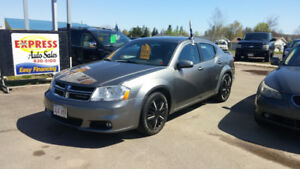 2012 DODGE AVENGER SXT AUTO  LOADED EASY FINANCING