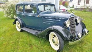 1934 Chev 2 door coach