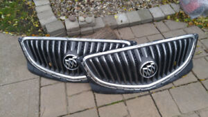 2 Buick Front Grills