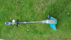 Rechargeable 40v grass trimmer