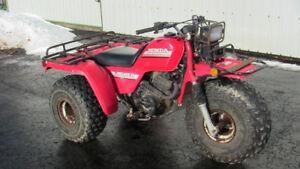 HONDA 250 BIG RED ATV 3 WHEELER