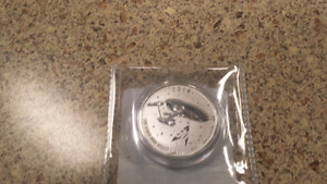Star trek enterprise $20 pure sliver coin
