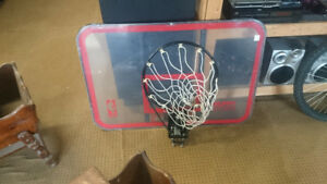 Basketball Net and Rim