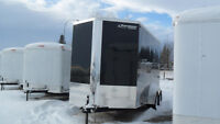 "NEW 2015 7'X14'X7'6""HIGH RAINBOW ENCLOSED ALUMINUM TRAILER"